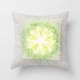 Triptychs Unveiled Flower  ID:16165-114729-45271 Throw Pillow