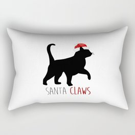 Santa Claws Rectangular Pillow