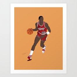 Young MJ23  Art Print