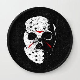 jason voorhees - Friday the 13th Wall Clock