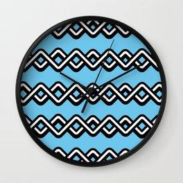 Digital weave Wall Clock
