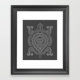 Pattern Tortoise  Framed Art Print