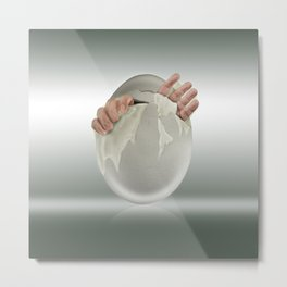 Hatched? Metal Print
