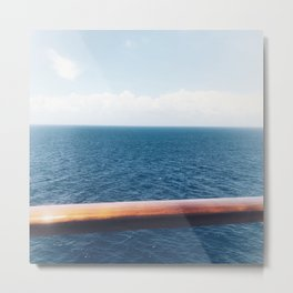 The Open Sea Metal Print