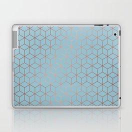 Gold Cubes 8 Laptop & iPad Skin