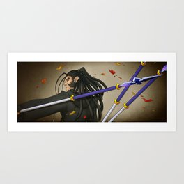 High Chance Of Whirlwinds Art Print