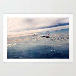 Concorde Horizons Art Print