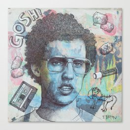 Napoleon Dynamite - Probably The Best Drawing I've Ever Done Canvas Print