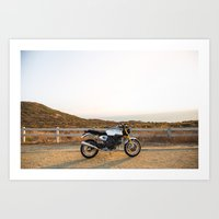 ducati Art Prints featuring Ducati 002 by Austin Winchell
