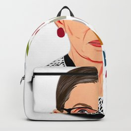 Women Belong In All Places Feminist Ruth Bader Ginsburg Backpack