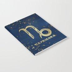 Capricorn Zodiac Sign Notebook
