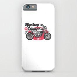 Ride Monkey iPhone Case