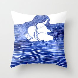 Nereid XXI Throw Pillow
