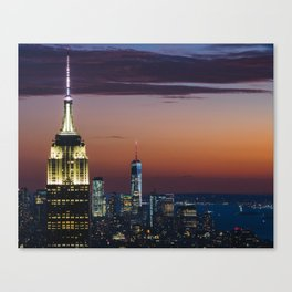 Top Of The Rock II Canvas Print