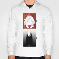 spirited away Hoodies featuring Spirited Away by Leamartes