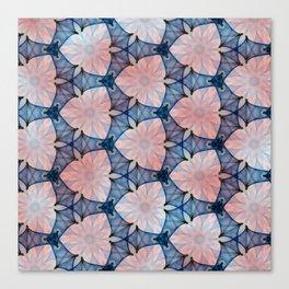 Two Tone Pattern Canvas Print