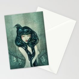 Oracle of the sodden raven Stationery Cards