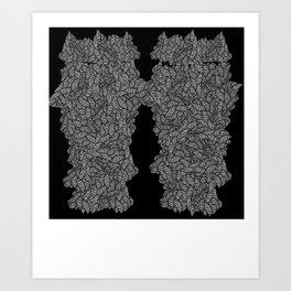 wobbly Art Print