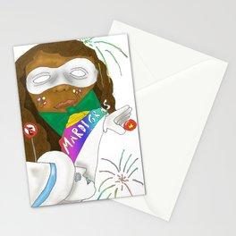 Mardi Gras 2 Stationery Cards