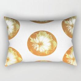 rusty circles Rectangular Pillow