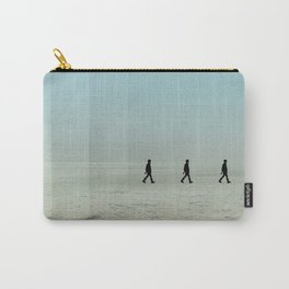 Walking on the beach 4 Carry-All Pouch