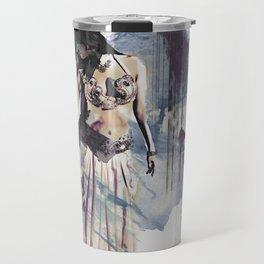 Bellydancer Abstract Travel Mug