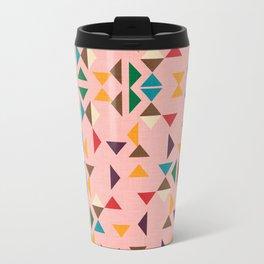 Triangle mod pink Travel Mug