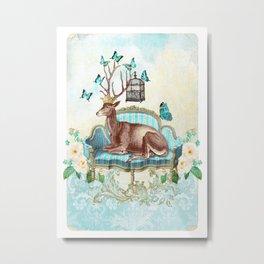 Deer me Metal Print