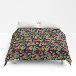 Nasturtium Bloom Comforters
