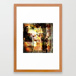 Mashed up Framed Art Print