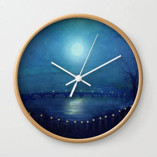 I'll Be Your Moon Wall Clock