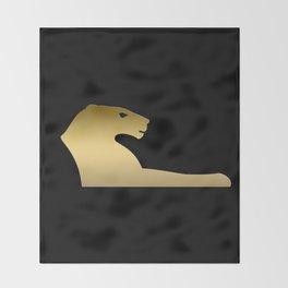 Ancient Egyptian lion – goddess Sekhmet Throw Blanket