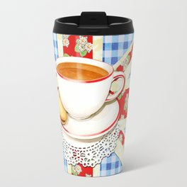 Union Jack and a Cup of Tea Travel Mug