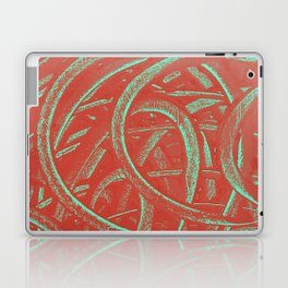 Junction - Red and Green Laptop & iPad Skin