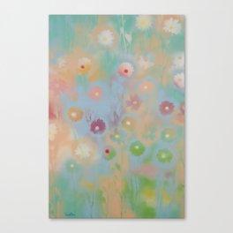 Pastel Daisies Canvas Print