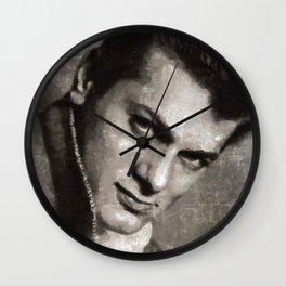 Tony Curtis by MB Wall Clock