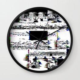 8-Bit Skull Wall Clock