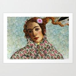 Persian mix: Venus Closeup Art Print