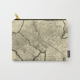 Vintage Map of Ukraine (1696) Carry-All Pouch