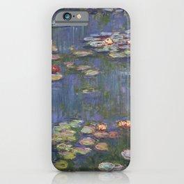 Claude Monet - Water Lilies, 1916 iPhone Case