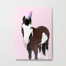 Pinto Pony Celebration Metal Print