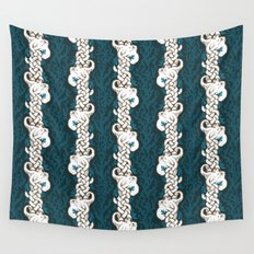 Cool Octopus Reef Wall Tapestry