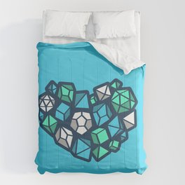 Heart of a Dungeon Master Comforters