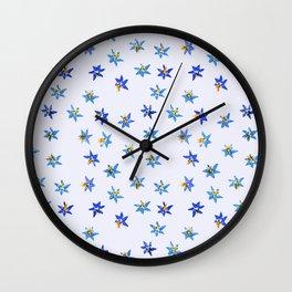 Hepatica Wall Clock