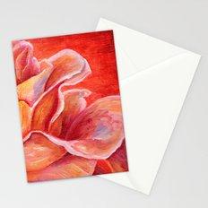 Rose Flower Bud Stationery Cards