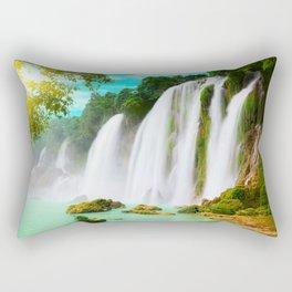 Detian Waterfall Rectangular Pillow