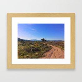 San Jacinto Riverbend Framed Art Print
