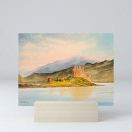Eilean Donan Castle Scotland Mini Art Print