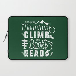Moutnains & Books - Inverse Laptop Sleeve