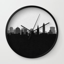 City Skylines: Cleveland (Alternative) Wall Clock